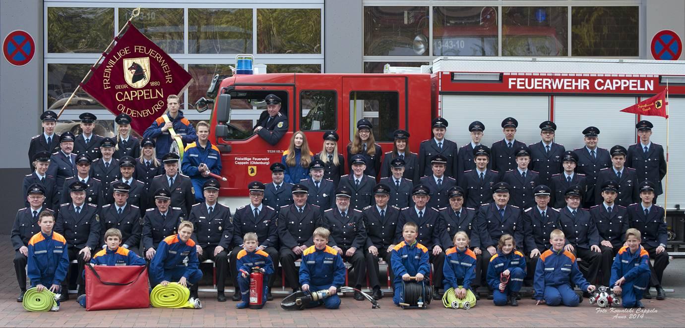 Die Mannschaft - Freiwillige Feuerwehr Cappeln