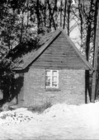 Das erste Feuerwehrhaus in Cappeln